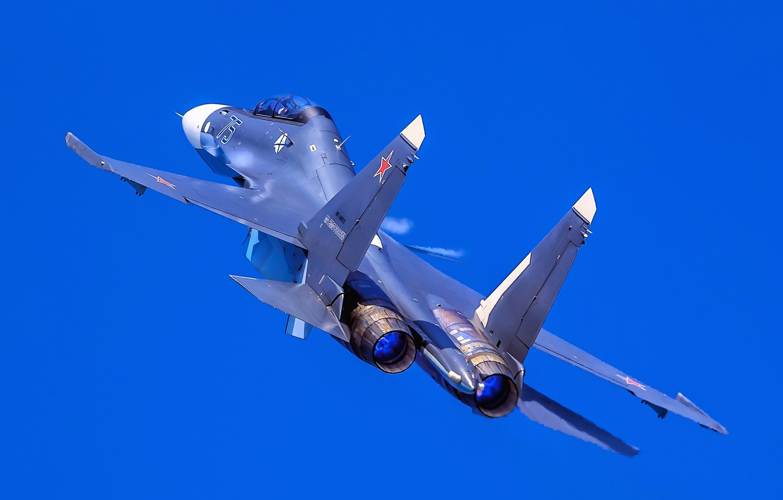 Фото обои небо, полёт, многоцелевой истребитель, Су-30СМ, Su-30SM, МА ВМФ России, поколение 4+