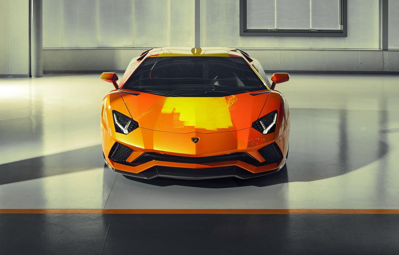 Фото обои Lamborghini, спорткар, Aventador S, Skyler Grey