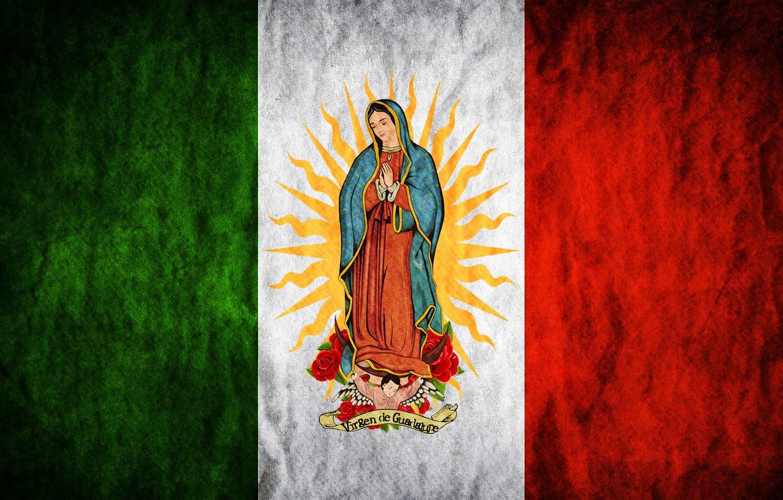 Фото обои rose, Mexico, flowers, sun, flag, Madonna, Maria, Regina Mundi, Saint Mary, Virgen de Guadalupe