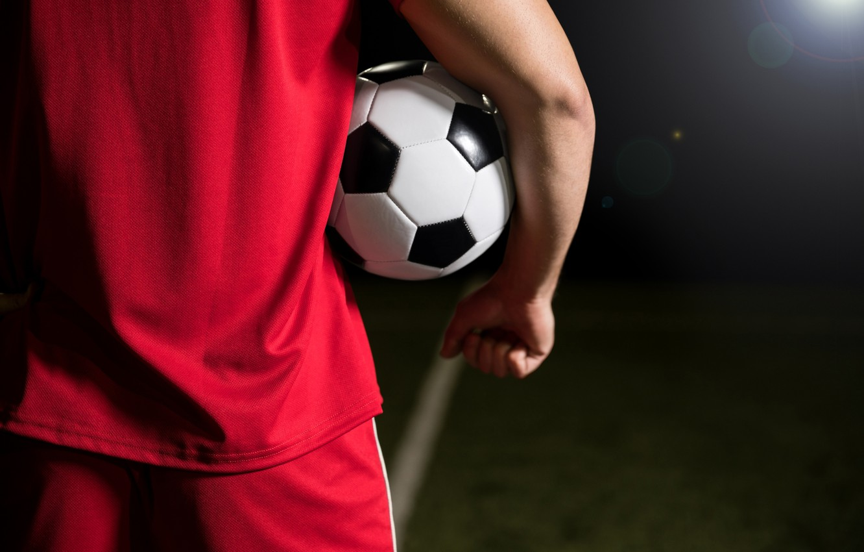 Фото обои football, men, ball
