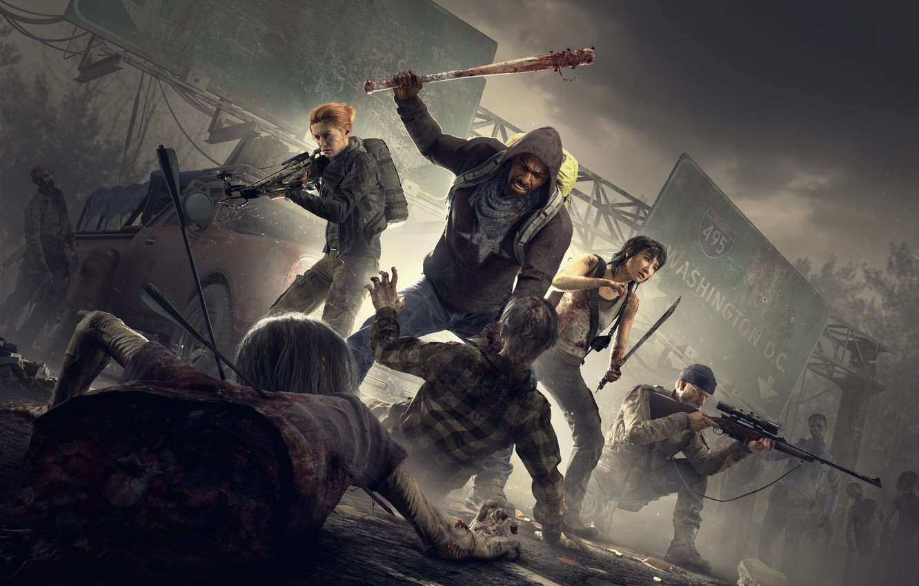 Фото обои Overkill Software, 505 Games, Overkill's The Walking Dead
