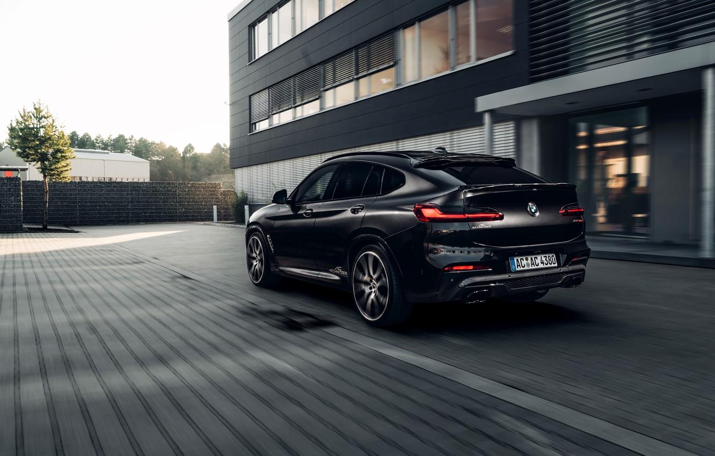 Фото обои машина, BMW, фонари, кроссовер, AC Schnitzer, BMW X4, G02