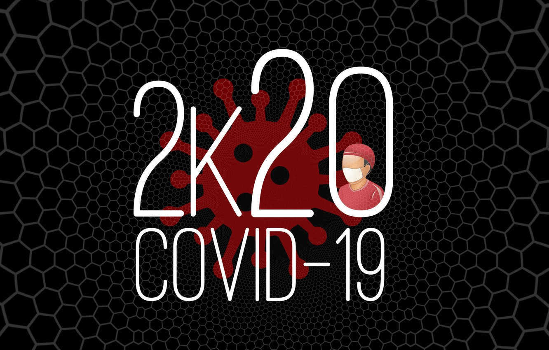 Фото обои вирус, 2020, пандемия, коронавирус, COVID-19