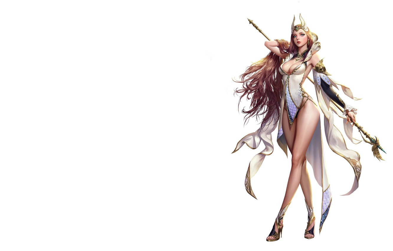 Фото обои игра, фэнтези, арт, персонаж, Elementalist, дизайн костюма, jungmin jin /dospi