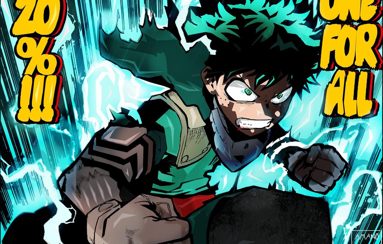 Фото обои злость, My Hero Academia, Boku No Hero Academia, Моя Геройская Академия
