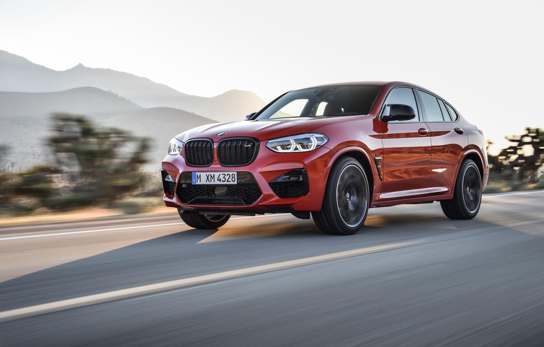 Фото обои машина, BMW, кроссовер, Competition, X4M, F98