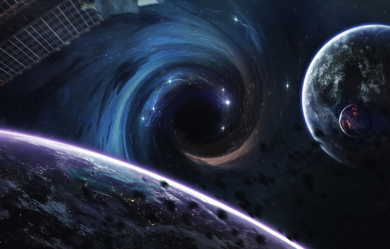 мне картинки космос и планеты и черная дыра девушками корсете