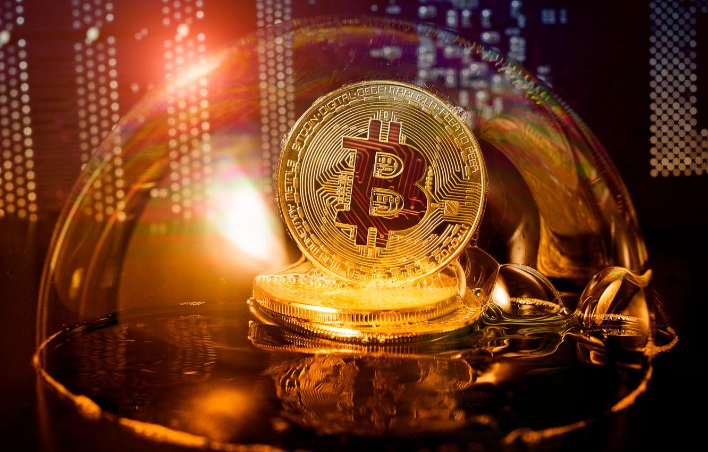 Фото обои money, coin, bitcoin