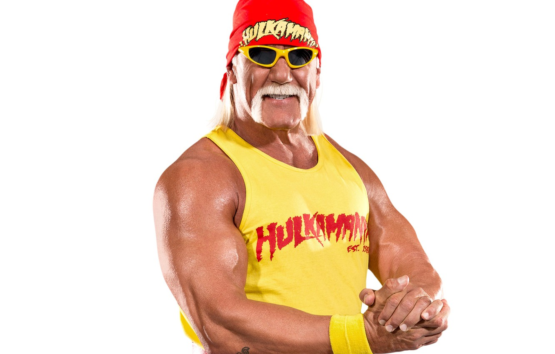 Фото обои усы, поза, очки, Халк Хоган, актёр, рестлер, бицепс, шоумен, Терри Джин Боллеа, Hulk Hogan