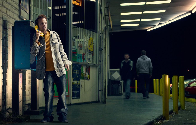 Фото обои сериал, Во все тяжкие, Breaking Bad, Аарон Пол, ДжессиПинкман