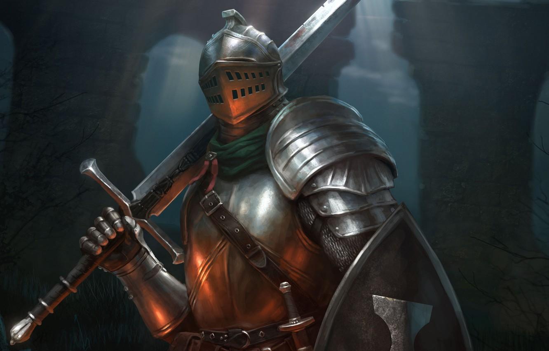 Обои Рыцарь, шлем, доспехи. Разное foto 6