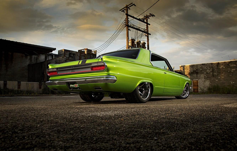 Фото обои Muscle, Dodge, Car, Custom, Dart, Dodge Dart, Pro Touring