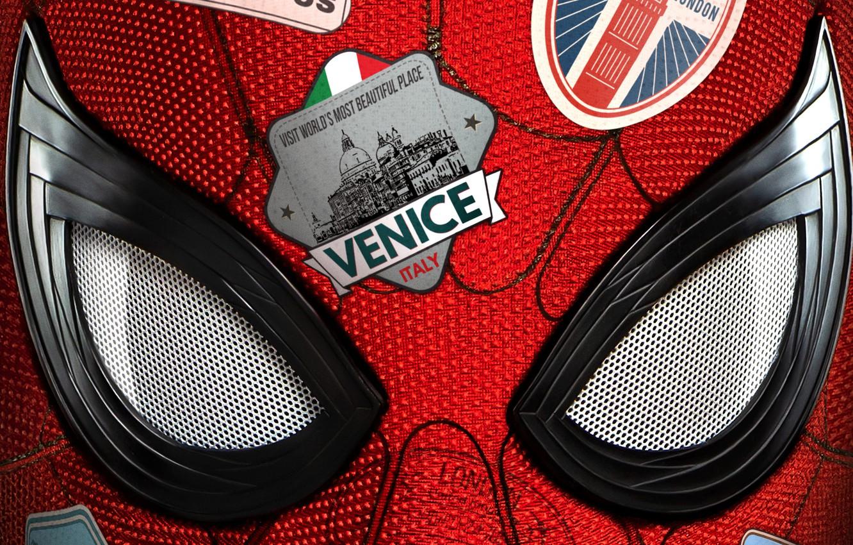Фото обои Marvel, Spider Man, Trip, Tom Holland, Peter Parler, Spider Man:Far from home