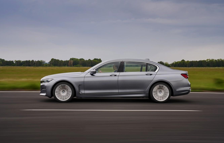 Фото обои скорость, BMW, седан, четырёхдверный, G12, G11, 2020, 7er, 7-series, 2019, полноразмерный