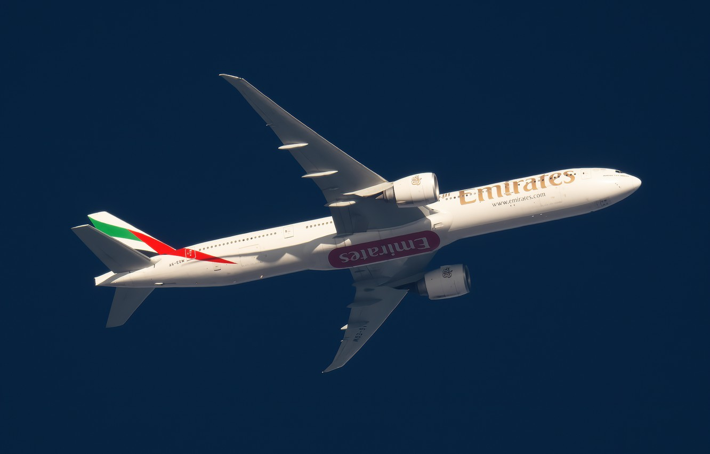 Обои 777, пассажирский, Самолёт, авиалайнер, боинг, boeing, 300. Авиация foto 13