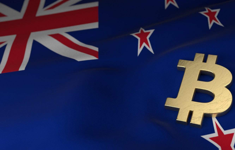Фото обои размытие, новая зеландия, new zeland, bitcoin, биткоин, btc