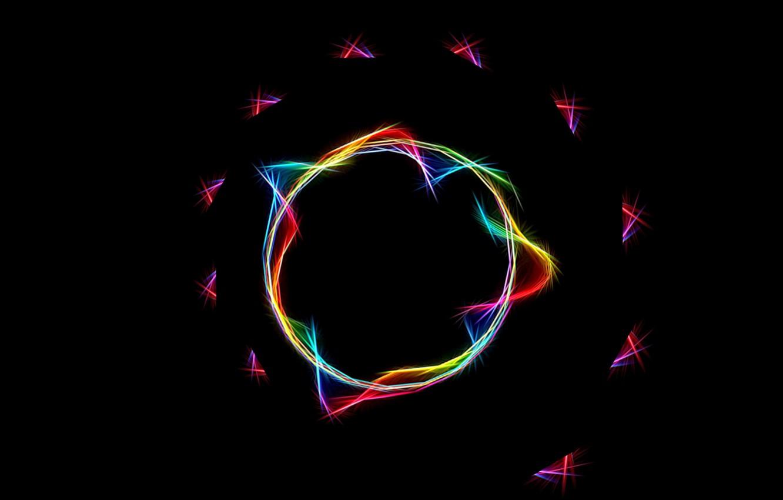 Обои Кольцо, спираль, обои, Цвет, свет. Абстракции foto 17