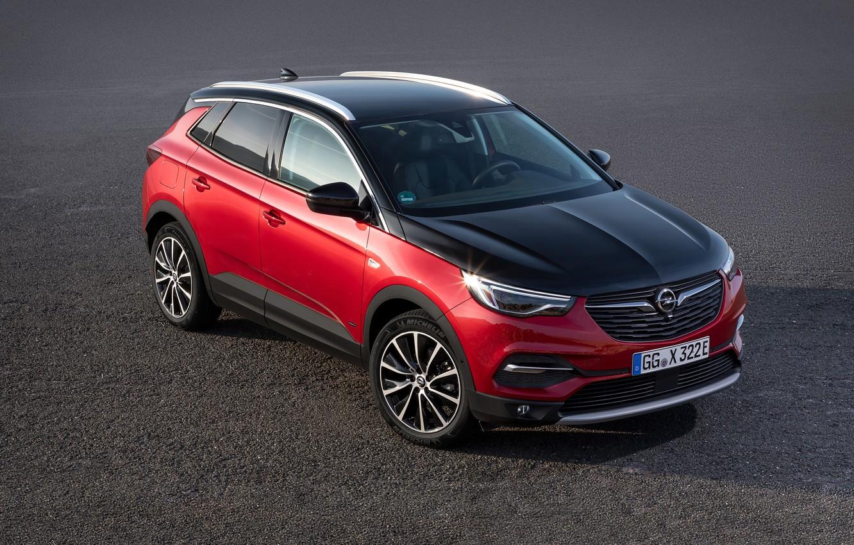 Фото обои Opel, Grandland X, 2019-20, Hybrid4