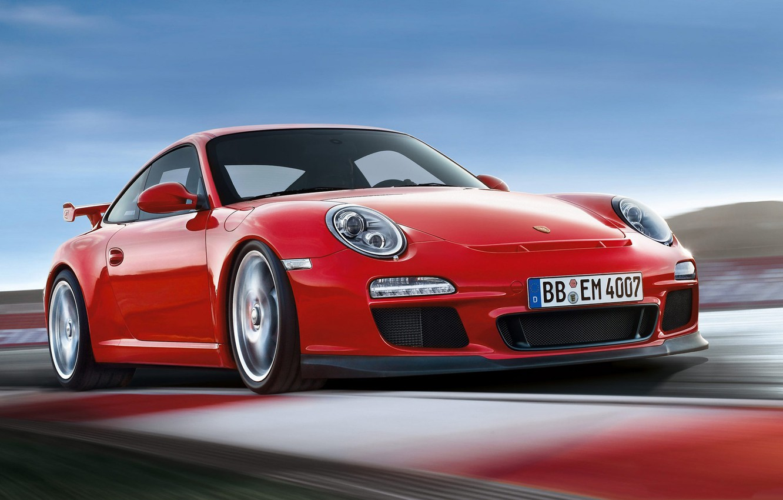 Фото обои 911, Porsche, 2010