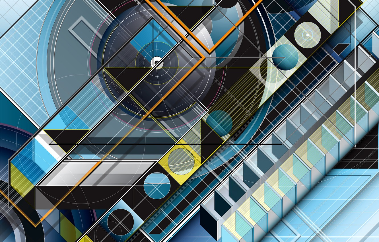 Обои архитектура, форма. Абстракции foto 8