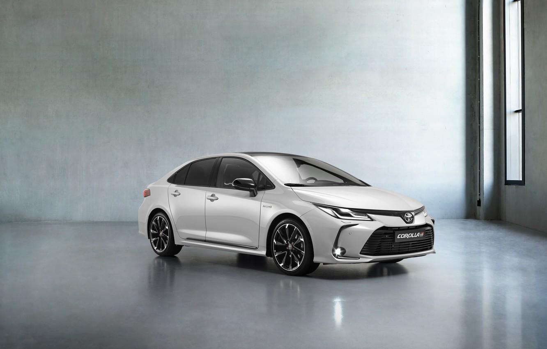 Фото обои Hybrid, Corolla, 2020, Sedan GR Sport