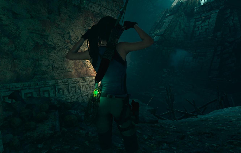 Фото обои Tomb Raider, Game, Lara Croft, Pose, Lara Croft and the Temple Of Osiris, UHD, HDR …
