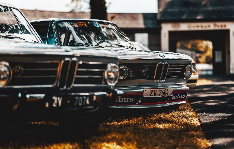Фото обои машины, фон, BMW 2002