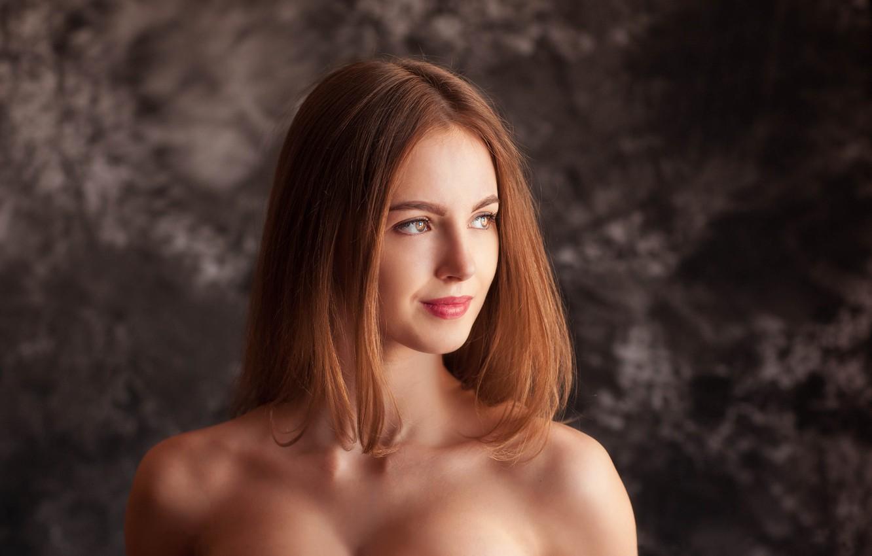 Фото обои взгляд, Девушка, Алексей Гилёв