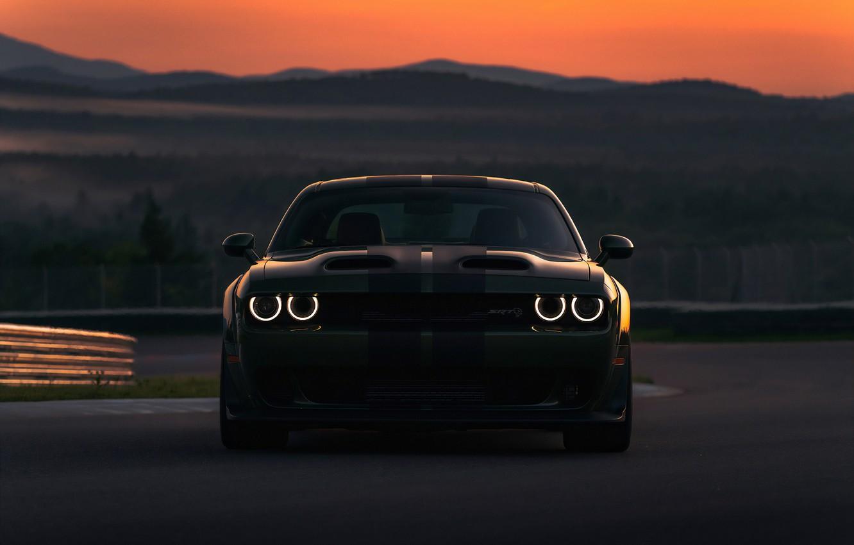 Фото обои Dodge, Charger, Hellcat, SRT, 2019, Dodge Charger SRT Hellcat 2019