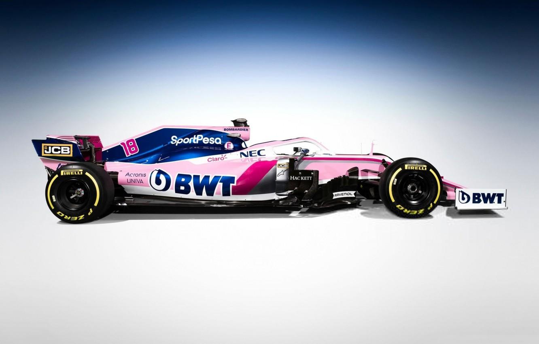 Фото обои формула 1, болид, 2019, Racing Point F1