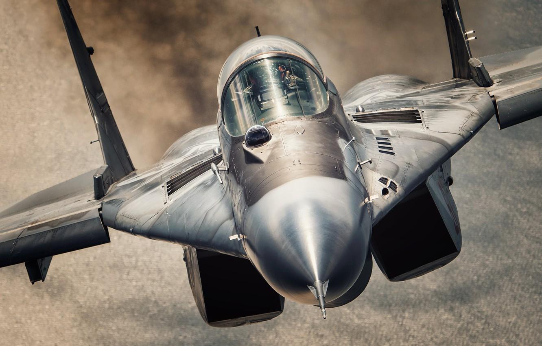 Обои МиГ-29М, ВВС Польши, многофункциональный истребитель. Авиация foto 16