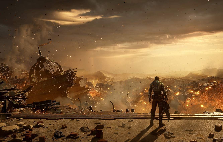 Фото обои апокалипсис, gears of war, games, microsoft game studios, гирзы 5, gears 5, кейт диаз, kait …