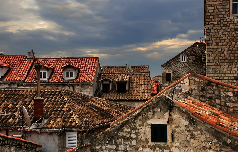Обои дома, крыша, Город. Города foto 19