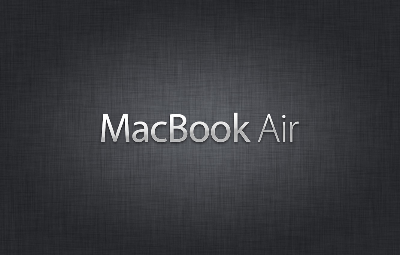 Фото обои Mac, Air, Book