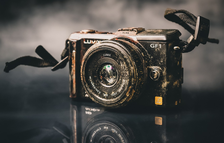 Обои камера, фон, makro. HI-Tech foto 8