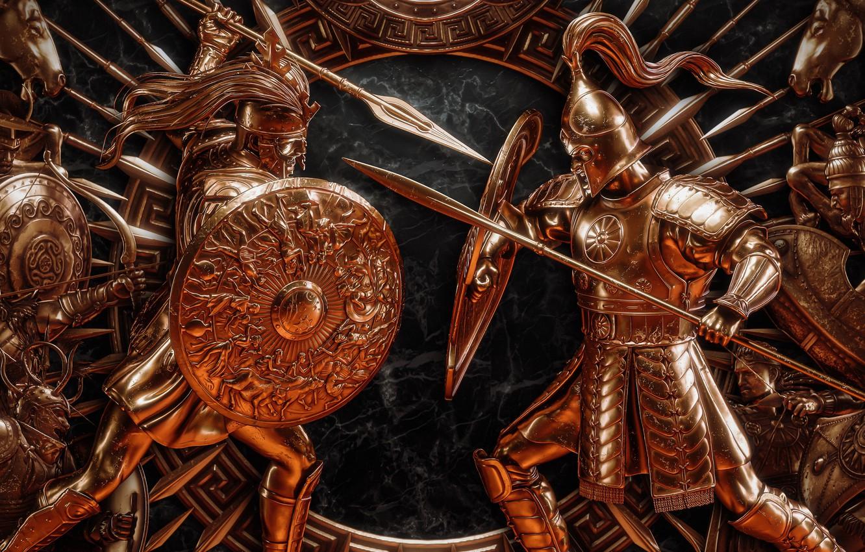 Фото обои Игра, Game, SEGA, The Creative Assembly, Strategy, Стратегия, Total War Saga Troy
