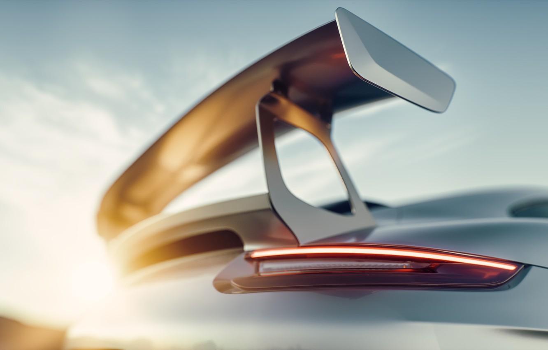 Фото обои Авто, Porsche, Машина, Серый, Car, Render, GT2, Transport & Vehicles, by Bartosz Peksa, Bartosz Peksa, ...