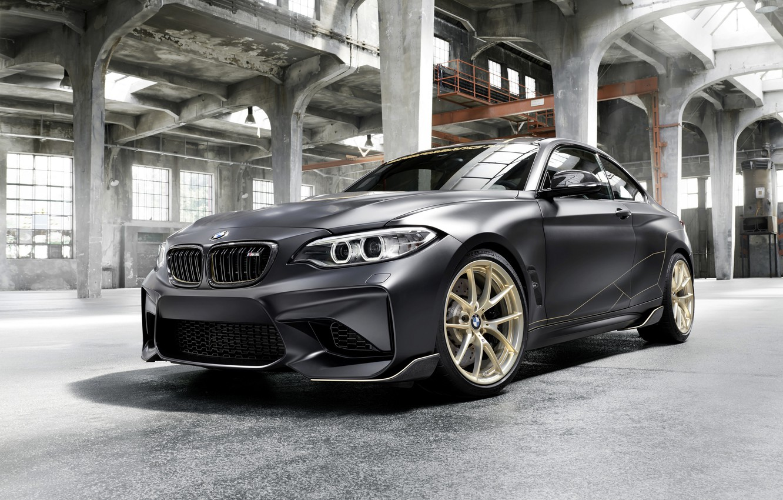 Фото обои BMW, помещение, 2018, F87, M2, M2 M Performance Parts Concept