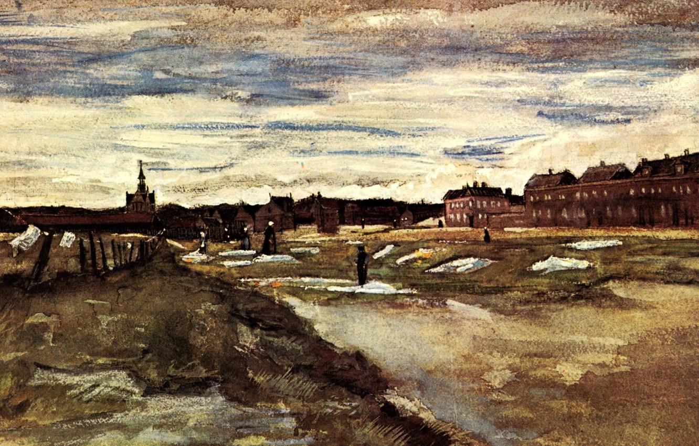 Фото обои Vincent van Gogh, Watercolors, Bleaching Ground