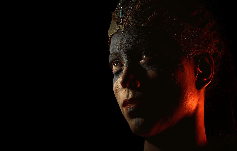 Фото обои игра, портрет, Hellblade: Senua's Sacrifice