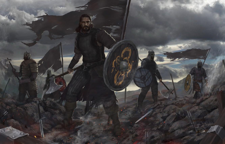нужен картинки с викингами на рабочий стол этот день