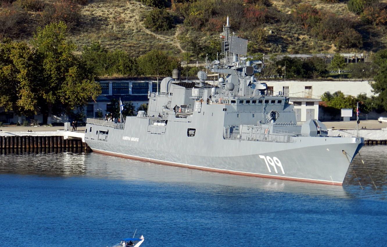 Фото обои фрегат, севастополь, адмирал макаров