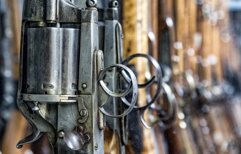 Фото обои оружие, ружьё, затвор