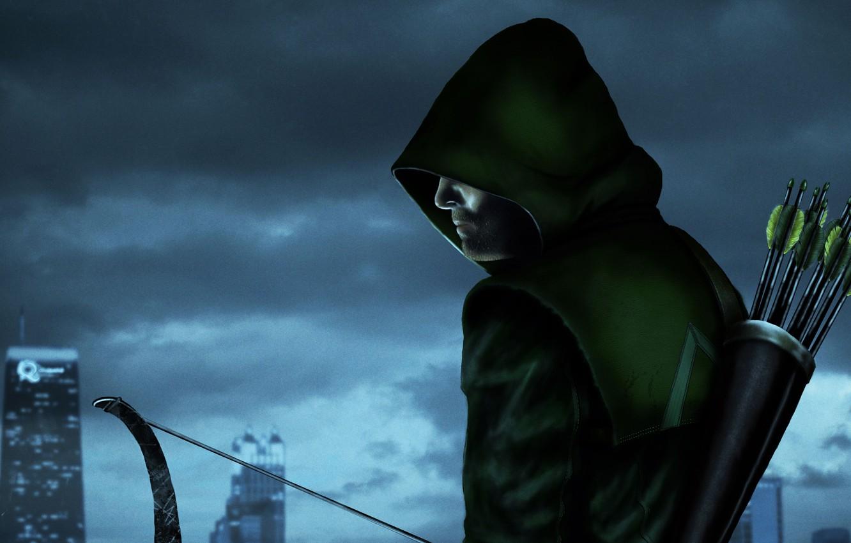Фото обои Comics, Green Arrow, Arrow, Oliver Queen