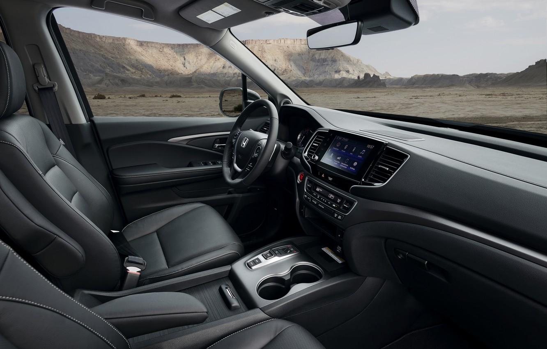 Фото обои интерьер, Honda, пикап, 2020, Ridgeline, 2021