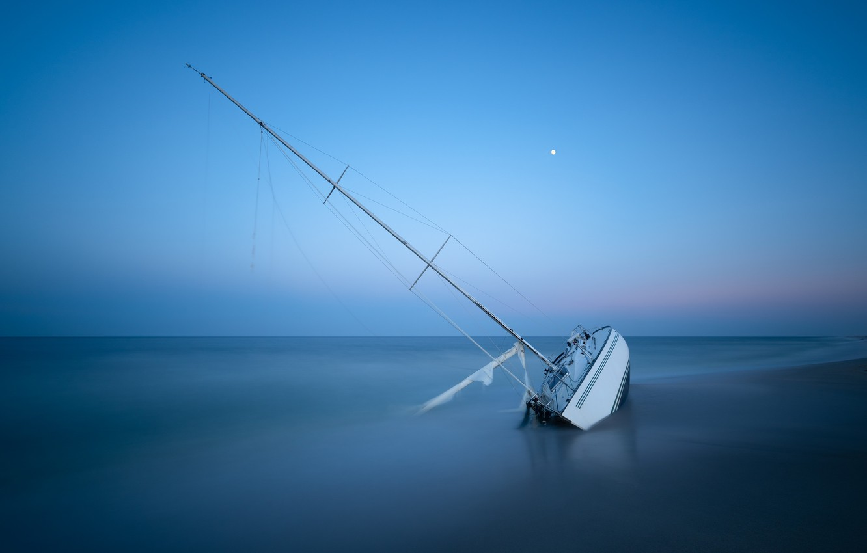 Обои яхта, Пейзаж. Природа foto 8