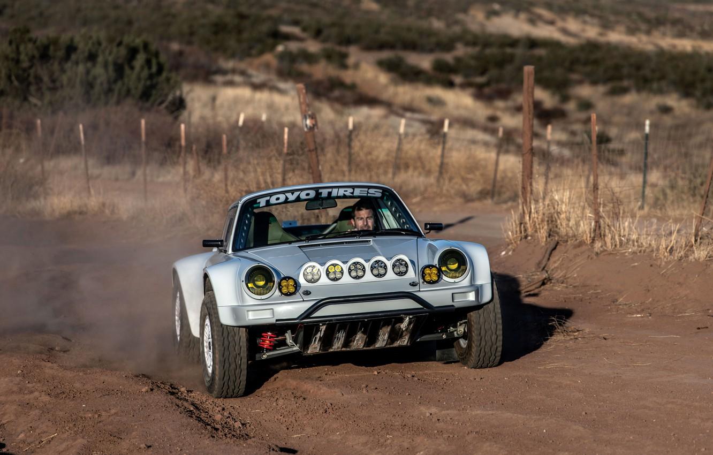 Фото обои 911, Porsche, 964, гоночный, 2019, 911 Baja Prototype, Russell Built Fabrication