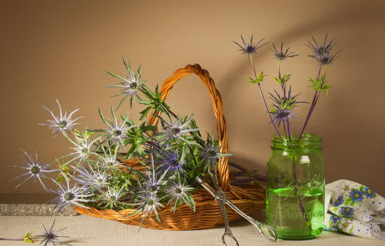 Фото обои цветы, букет, ваза, натюрморт