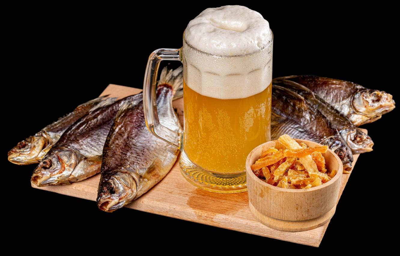 нельзя пить пиво с воблой и любой другой сушеной рыбой
