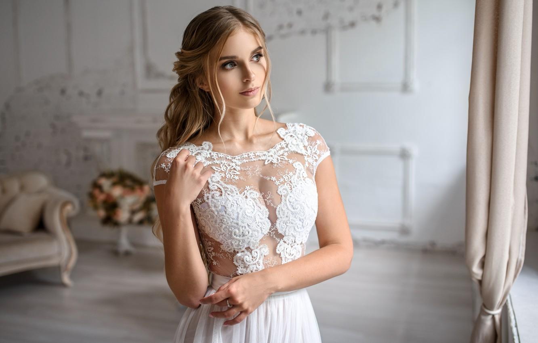Фото обои девушка, платье, красавица, невеста, Игорь Кондуков, Igor Kondukov